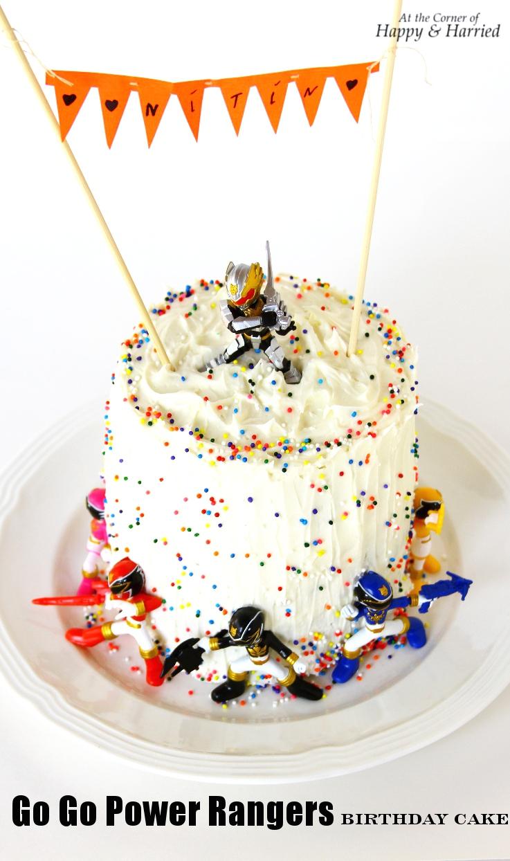Stupendous Boys Power Rangers Birthday Cake Funny Birthday Cards Online Alyptdamsfinfo